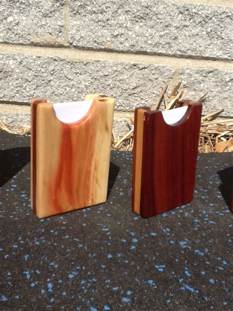 business card holders   pocket woodworking