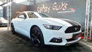 Ford Mustang 2 3 Ecoboost Fiche Technique : ford mustang fastback eco blanche 2016 performance motors ~ Maxctalentgroup.com Avis de Voitures