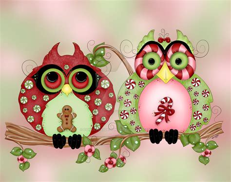 christmas owl wallpaper gallery