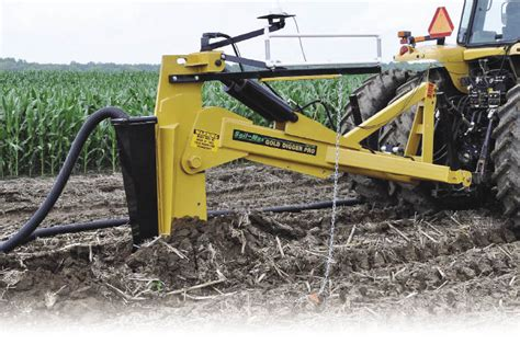 gold digger tile plow dealer how to sell efficiency in the field fuels roi