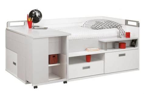 lit et bureau ado table rabattable cuisine lit bureau ado
