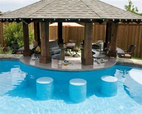 backyard pool bar swim up bar residential summer swim pool swimming pool bar backyard summer parties by the