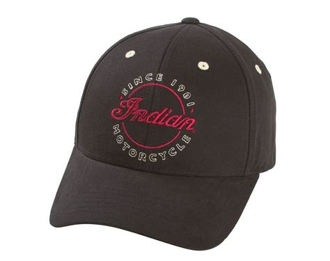 New Indian Motorcycle Original Hat Cap One Size Fits Most