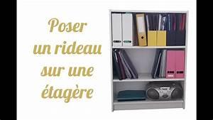 Poser Des Rideaux : diy poser une tringle et un rideau sur un meuble ikea youtube ~ Nature-et-papiers.com Idées de Décoration