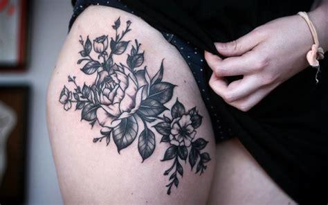 thigh tattoos  women cute ideas designs  guide