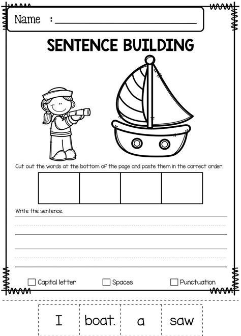 pin  ashley cook  kindergarten curriculum sentence