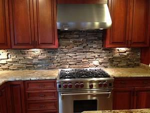 Natural Stone Kitchen Backsplash Ideas DECOOR