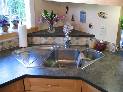 triangle kitchen sink image result for how to support a corner freestanding 2942