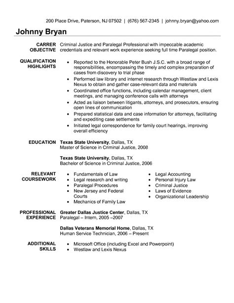 immigration paralegal resume sle gallery creawizard
