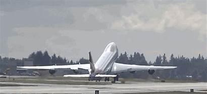 747 Take Goodbye Gifs Low Boeing Cargo