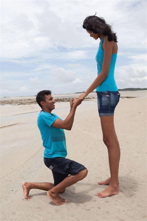 World's Tallest Teen Is Engaged Bellanaija