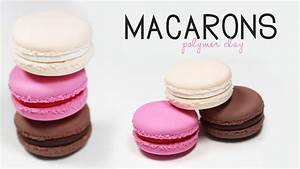 Polymer Clay Macaron Tutorial