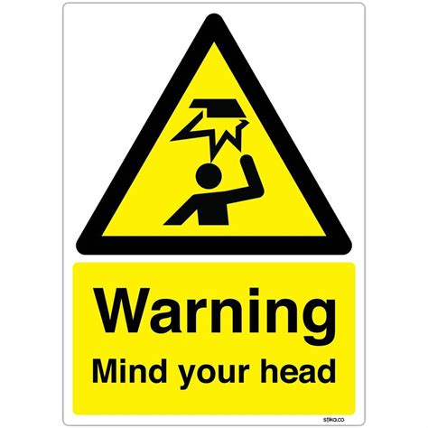 Warning Mind Your Head Caution Hazard Safety Sign  Ebay. Aspirin Signs Of Stroke. Vegan Cafe Signs. Unc Fan Signs. Consolidation Signs. Poems Signs. Que Es Signs. Chronic Signs. Venn Diagram Signs