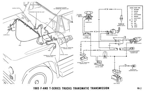1965 Ford Truck Wiring by 1965 Wiring Diagrams Ford Truck Fanatics