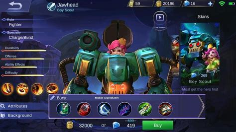 Jawhead Destroyer Damage Build 2019