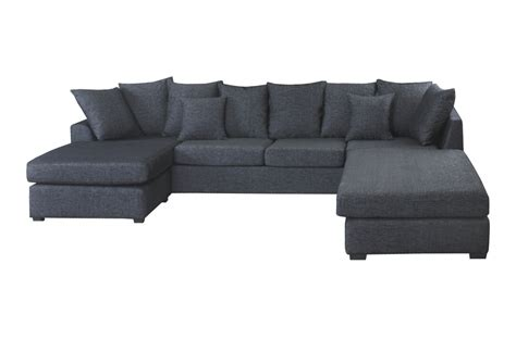 mobilier de canapé d angle canapé d 39 angle panoramique en tissu de qualité belo