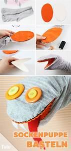 Aus Socken Basteln : handpuppen selber machen puppen tiere aus socken basteln diy ideen basteln und gestalten ~ Watch28wear.com Haus und Dekorationen