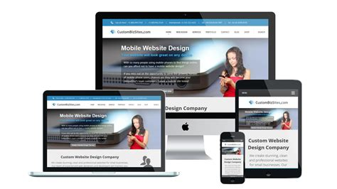 Mobile Website by Mobile Website Design Services Responsive Mobile