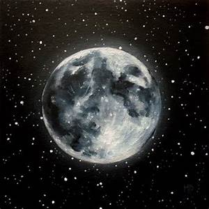 """Marina Petro ~ Adventures In Daily Painting: """"Moon Glow ..."""