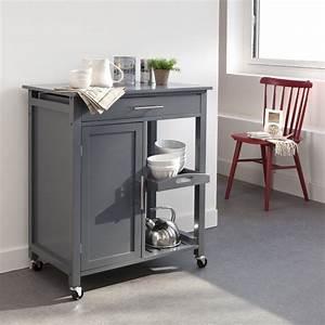 Meuble Appoint Cuisine : meubles cuisine la redoute desserte roulettes ventes ~ Melissatoandfro.com Idées de Décoration