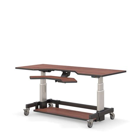 large adjustable height desk height adjustable standing desk afcindustries com