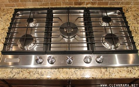 ge gas cooktop grates how to clean a gas cooktop clean