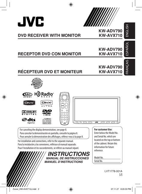 jvc kw avx users manual lvt