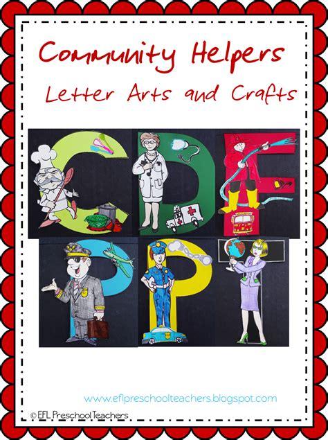 eslefl preschool teachers community helpers worksheets