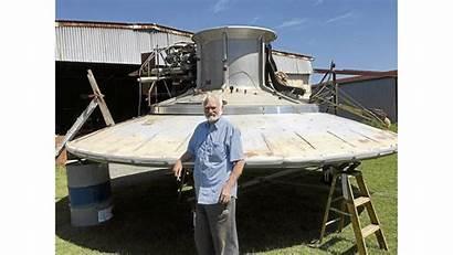 Flying Saucer Engine Hardie 350hp Installs Engineer