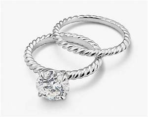 A David Yurman Cable Engagement Ring Imposter Engagement