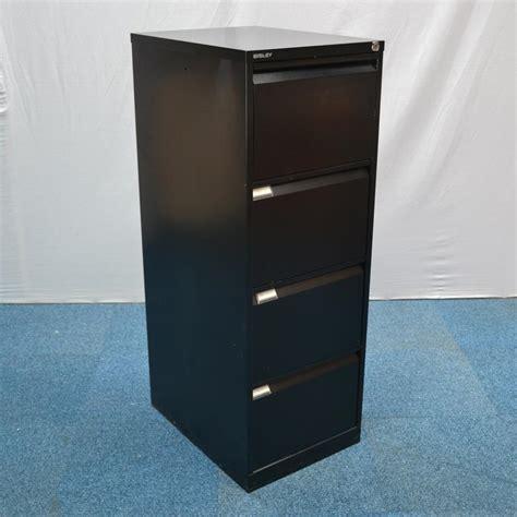 file cabinet drawer slides bisley bs4e black 4 drawer filing cabinet
