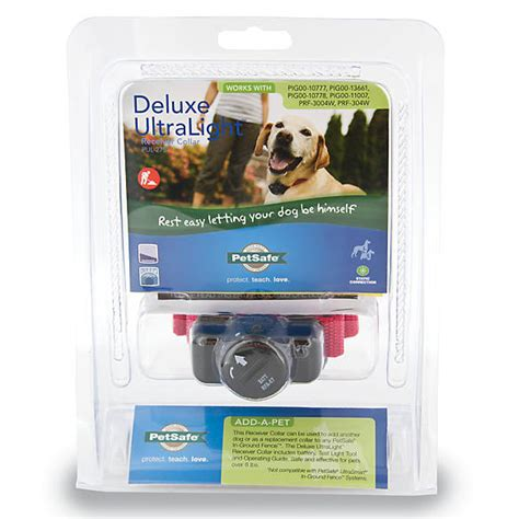 petsafe deluxe ultralight receiver dog collar dog
