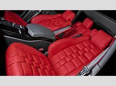 2013 Range Rover Gets Kahn Red Leather Interior