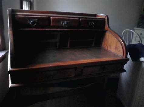Ethan Allen Oak Roll Top Desk by I Have A Link Taylor Roll Top Desk In Great Condition