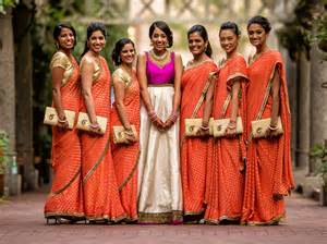 wedding bridesmaid choosing indian wedding bridesmaid dresses indian fashion