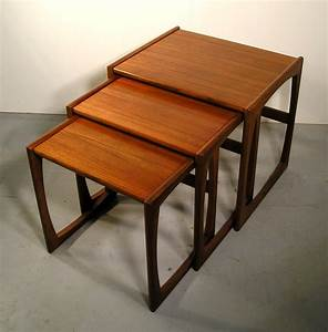 Woodwork G Plan Coffee Table Nest PDF Plans