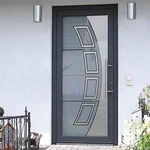 Porte d39entree vitree design individuel offre en ligne for Porte de garage coulissante avec porte d entrée pvc castorama