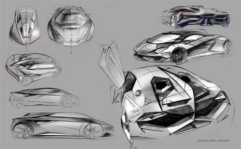 lamborghini sketch lamborghini perdigón concept to rival bugatti veyron