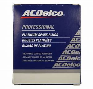 Acdelco Platinum Spark Plugs Pack Of 4 New Gm Oem 19307142 41