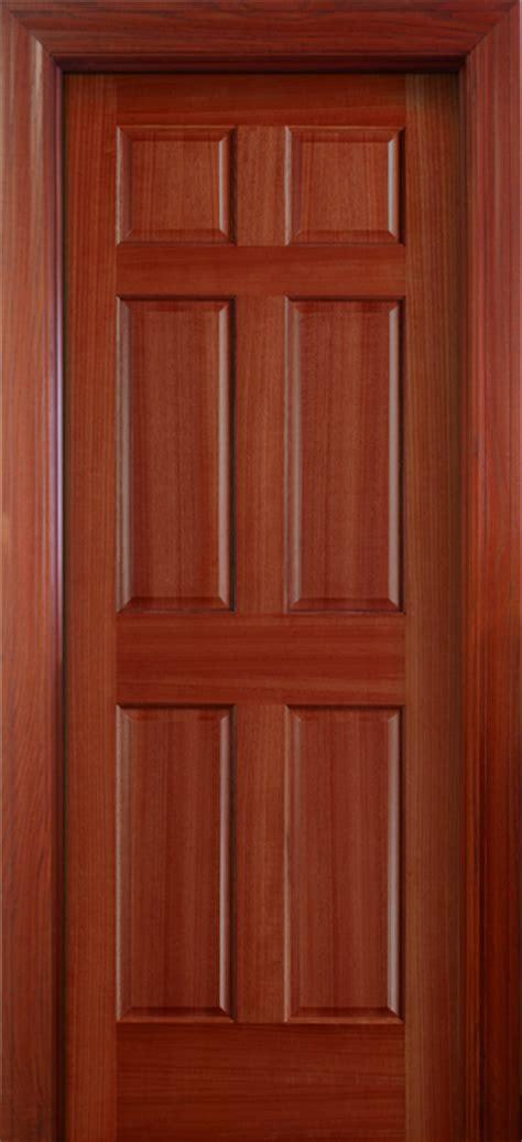6 Panel Wood Interior Doors by Interior Doors Wood Solid Mahogany 6 Panel Doors