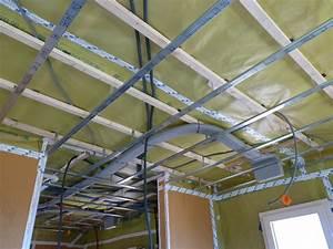 Pose D Un Faux Plafond En Ba13 : fermacell ~ Melissatoandfro.com Idées de Décoration
