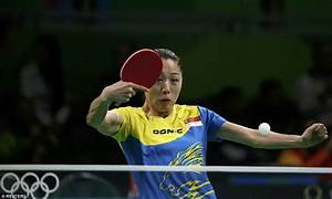 The weird and wonderful faces pulled by table tennis Rio ...