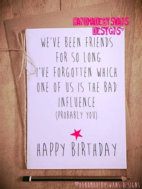 funny birthday card birthday card friend  friend