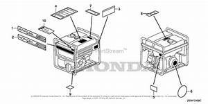 Honda Eb3000c Ag  A Generator  Jpn  Vin  Ezgp