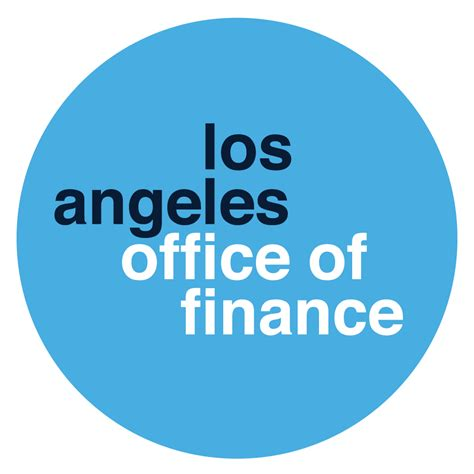 bureau of finance los angeles office of finance