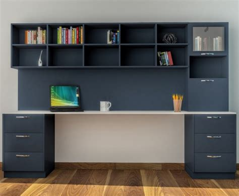 modern shelf contemporary and colorful study table design ideas