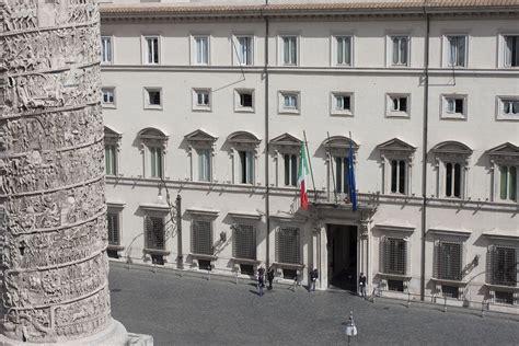 Governo Italiano Presidenza Consiglio Dei Ministri by Palazzo Chigi La Storia Www Governo It