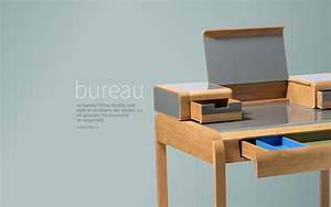 Bureau Contemporain Design : bureau design bureau 50 39 s le bureau design par red edition ~ Teatrodelosmanantiales.com Idées de Décoration
