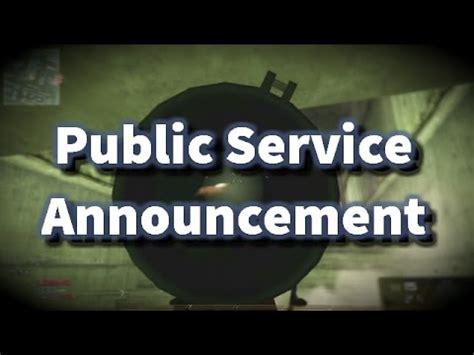 Public Service Announcement (mw2) Youtube