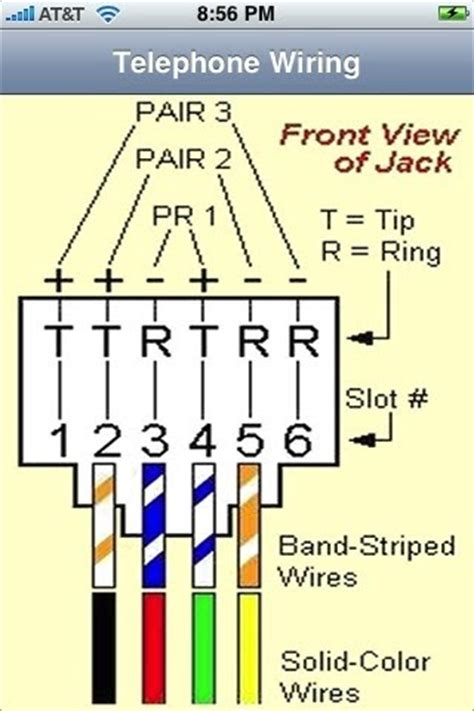 rj11 rj45 wiring diagram schematic